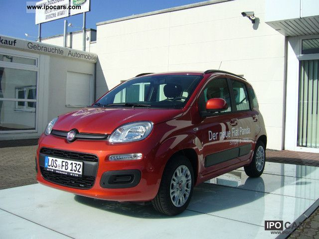 2012 Fiat  New Panda Lounge 02.01 original price: 12.400, - € Small Car Demonstration Vehicle photo