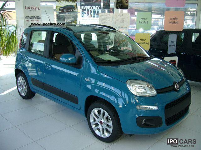 2011 Fiat  New Panda Lounge TWINAIR 0.9 Start & Stop Small Car New vehicle photo