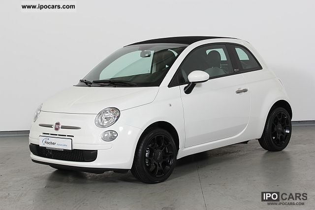 2011 fiat 500 c 0 9 twinair plus 5 gg climate car photo. Black Bedroom Furniture Sets. Home Design Ideas