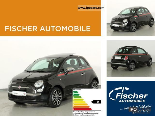 2011 Fiat  500 1.2 8V by Gucci XENON / el.GSD / LEATHER Limousine Demonstration Vehicle photo