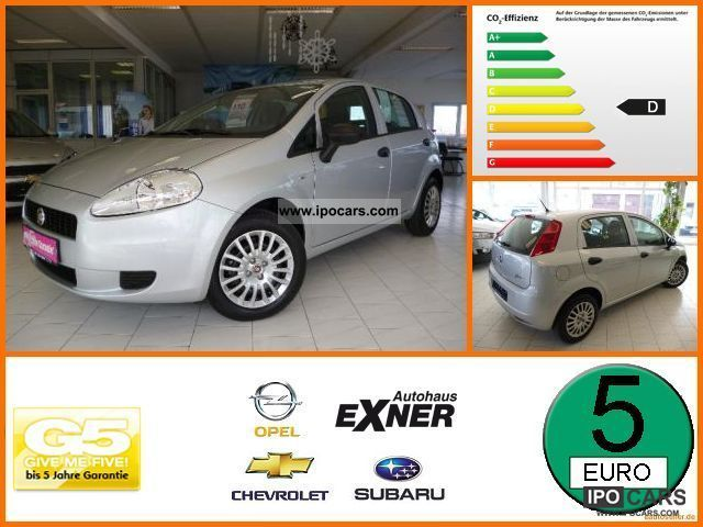 2012 Fiat  Grande Punto 1.2 8V Start & Stop Climate, CD, 5-Türi Limousine Used vehicle photo