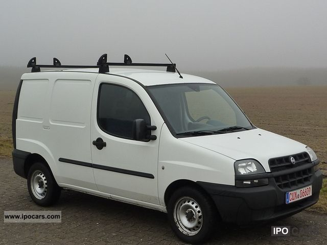 2001 Fiat  Doblo Cargo 1.9 D Van / Minibus Used vehicle photo