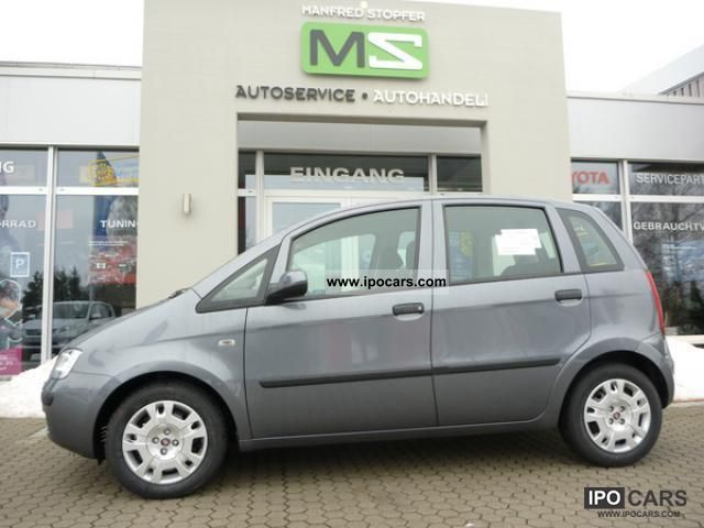 2011 Fiat  IDEA 1.4 16V Active 5-türig/6-Gang/ZV m FFB / ... Other New vehicle photo