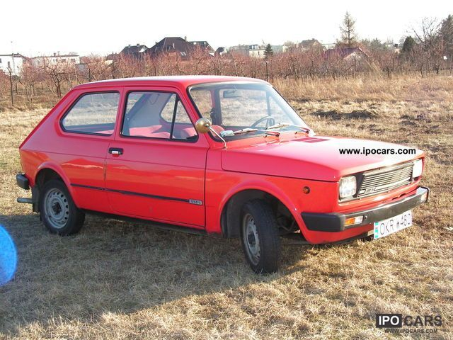 1980 Fiat  127 1050 German - Deutsch - Polski Small Car Used vehicle photo