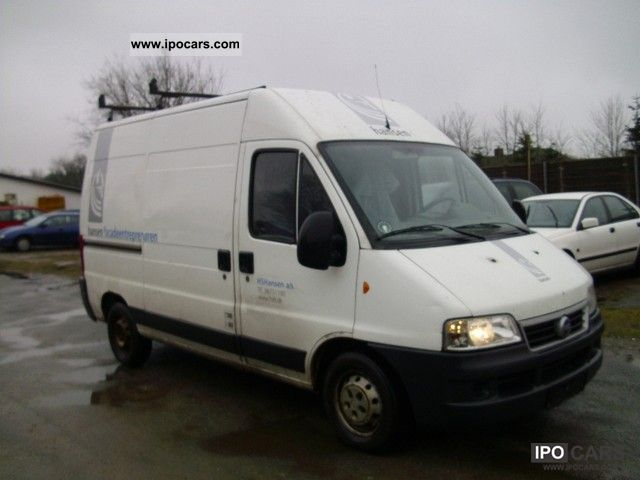 2004 Fiat  Ducato high & LONG Van / Minibus Used vehicle photo