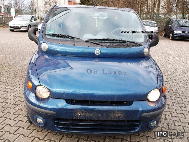 2002 fiat multipla 1 6 16v elx car photo and specs. Black Bedroom Furniture Sets. Home Design Ideas