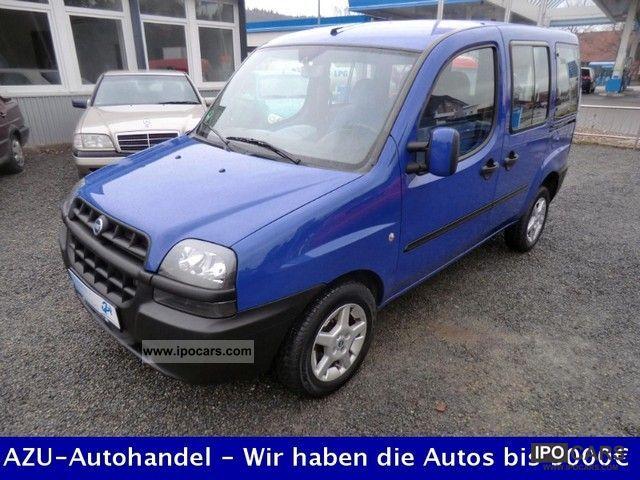 2005 Fiat  Doblo Trophy - Air - 2xSchiebetür - NEW Tüv Van / Minibus Used vehicle photo