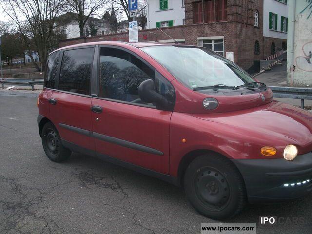 2001 Fiat Multipla Jtd 110 Elx
