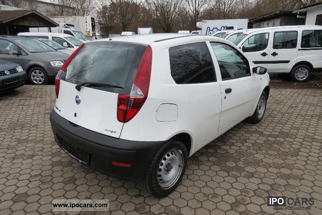 2007 fiat punto 1 3 multijet 16v van radio power car photo and specs. Black Bedroom Furniture Sets. Home Design Ideas