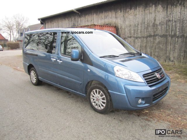 2010 Fiat  Scudo Panorama Exclusive glazed DPF 8-seater Van / Minibus Used vehicle photo