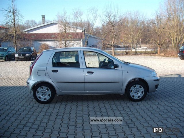 2005 fiat punto 1 2 8v car photo and specs. Black Bedroom Furniture Sets. Home Design Ideas