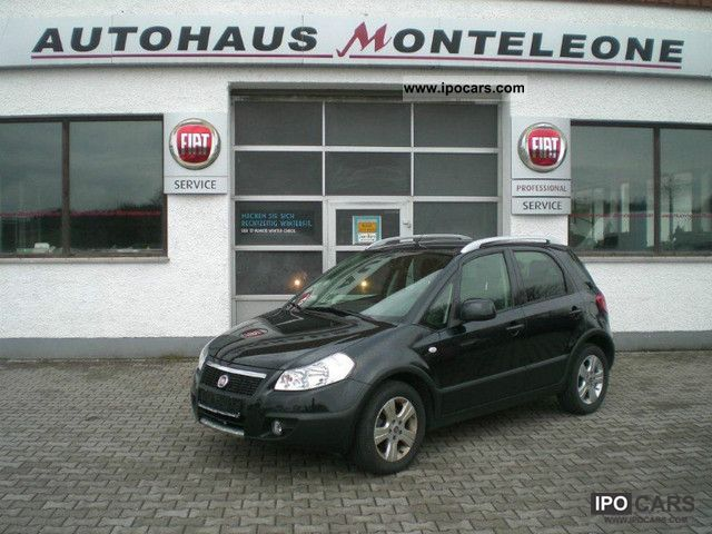 2009 Fiat  Sedici 1.6 16V 4x2 Automatic Emotion! TOP! IMMEDIATELY Limousine Used vehicle photo