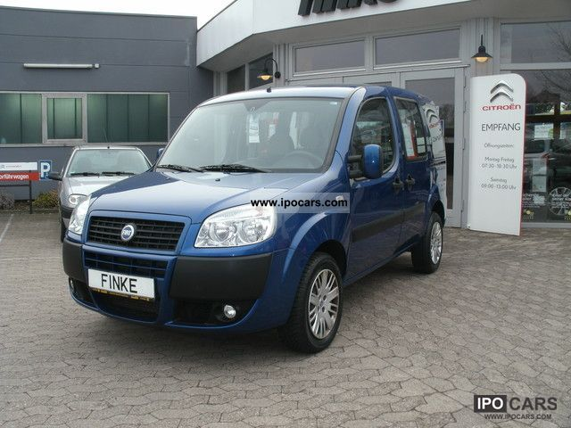 2007 Fiat  Doblo 1.3 Multijet 16V DPF Dyn Estate Car Used vehicle photo