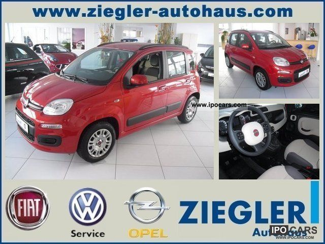2012 Fiat  * NEW * Panda 1.2 8V 51 kW TECHNO LOUNGE PACKAGE Small Car Demonstration Vehicle photo