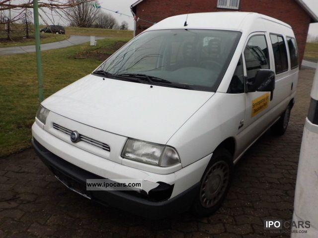 2002 Fiat  Scudo 2.0 JTD Klima/Euro3 Van / Minibus Used vehicle photo