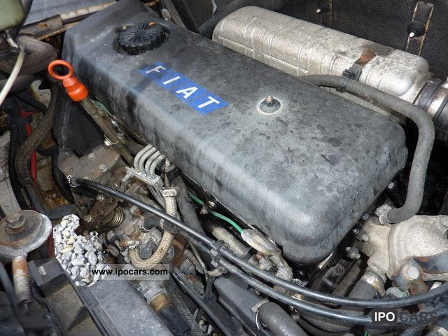 1995 Fiat Ducato 2.5D Timing Belt Damage - Car Photo and Specs