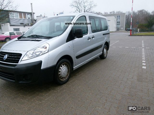 2007 Fiat  Scudo 1.6 JTD 12 L2H2 9-seater 1.Hand/Klima Van / Minibus Used vehicle photo