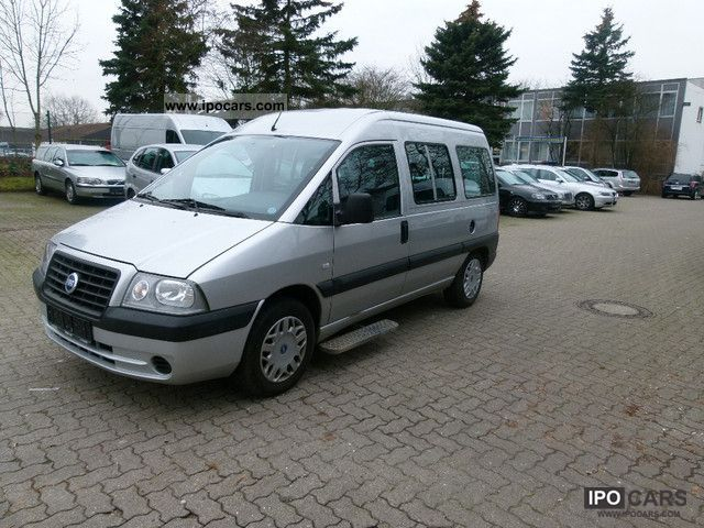 2005 Fiat  Scudo 2.0 SX automatic glazed * Barrier court Van / Minibus Used vehicle photo