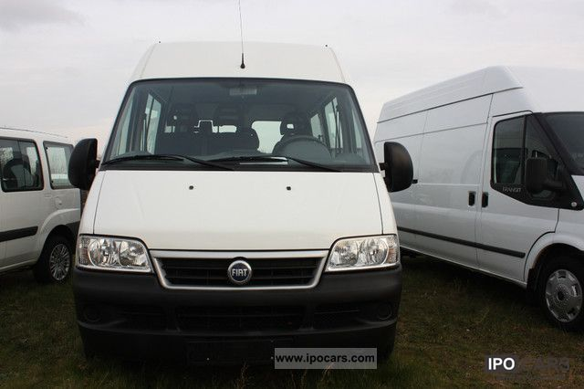 Fiat  Ducato Natural Power 15 9 seater 40000km 2006 Compressed Natural Gas Cars (CNG, methane, CH4) photo