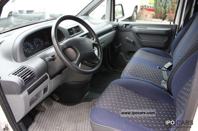2006 Fiat  Scudo glazed, original 62 000 KM, 1.Hand Van / Minibus Used vehicle photo