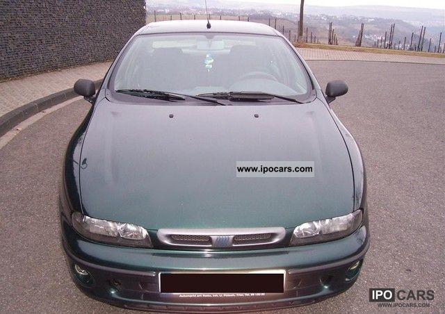 1998 Fiat  Marea 1.6 16V SX, technical approval, air, radio central, el.Fh Limousine Used vehicle photo