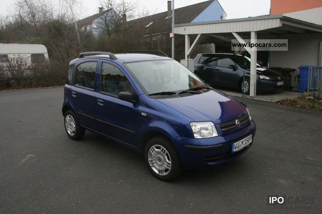 Fiat  Panda 1.2 Natural Power 2007 Compressed Natural Gas Cars (CNG, methane, CH4) photo