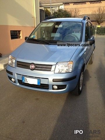 Fiat  Panda 2007 Compressed Natural Gas Cars (CNG, methane, CH4) photo