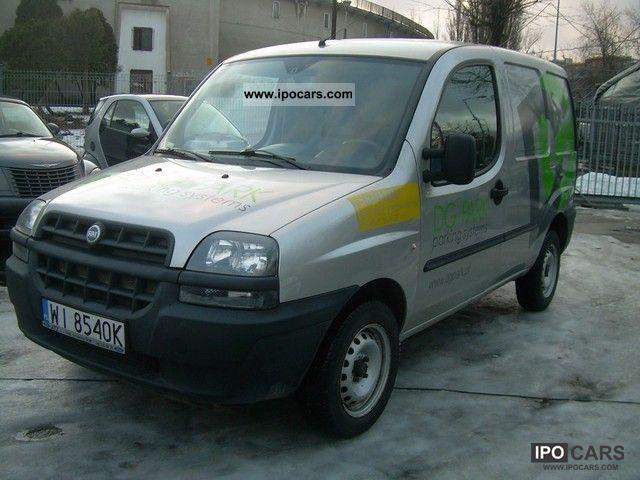 2004 Fiat  SALON Doblo PL, DIESEL 1.3, F-VAT 23% Van / Minibus Used vehicle photo