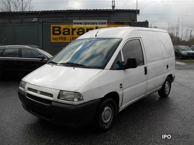 1997 Fiat  Scudo EL 295.0 TÜV approval truck 7/2012 Van / Minibus Used vehicle photo