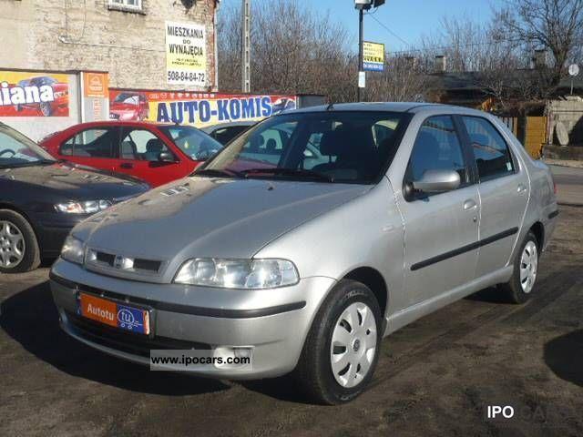Fiat  Albea 1.2 16V GAZ I właściciel!!!!! 2004 Liquefied Petroleum Gas Cars (LPG, GPL, propane) photo