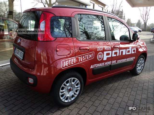 2012 fiat panda 1 2 new panda lounge car photo and specs. Black Bedroom Furniture Sets. Home Design Ideas