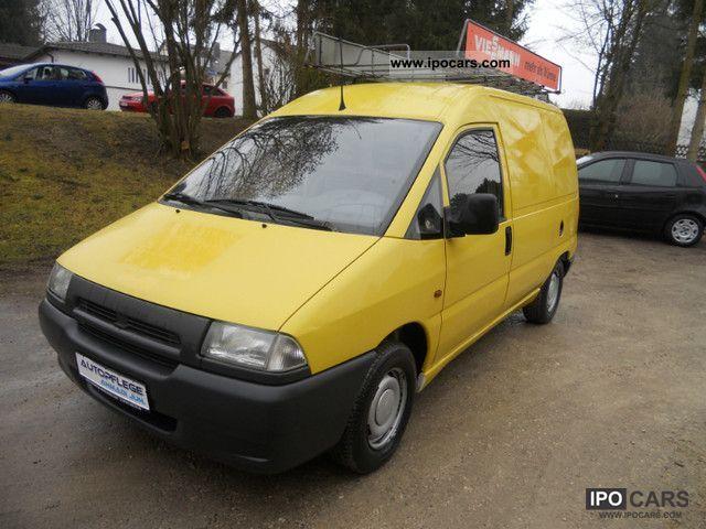 1998 Fiat  Scudo 1.9 D * AHK * Roof rack * 3Sitzer Van / Minibus Used vehicle photo