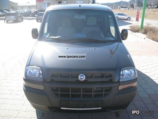 Fiat  Doblo 1.6 16V Natural Power petrol / gas 2005 Compressed Natural Gas Cars (CNG, methane, CH4) photo