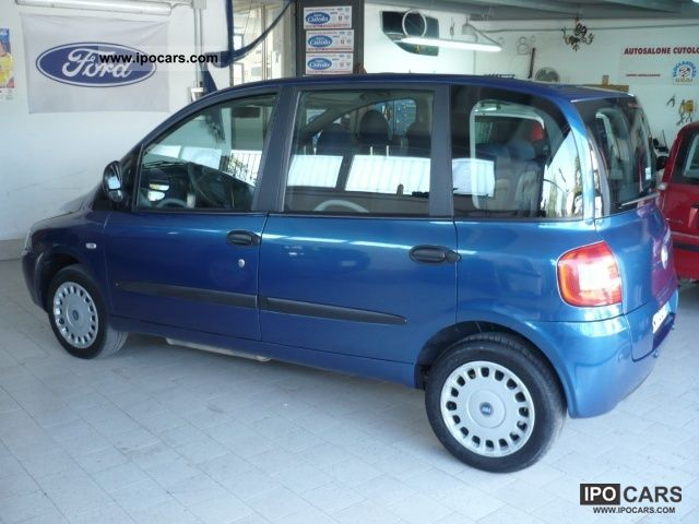 2005 fiat multipla 1 6 16v natural power euro 4 se usato car photo and specs. Black Bedroom Furniture Sets. Home Design Ideas