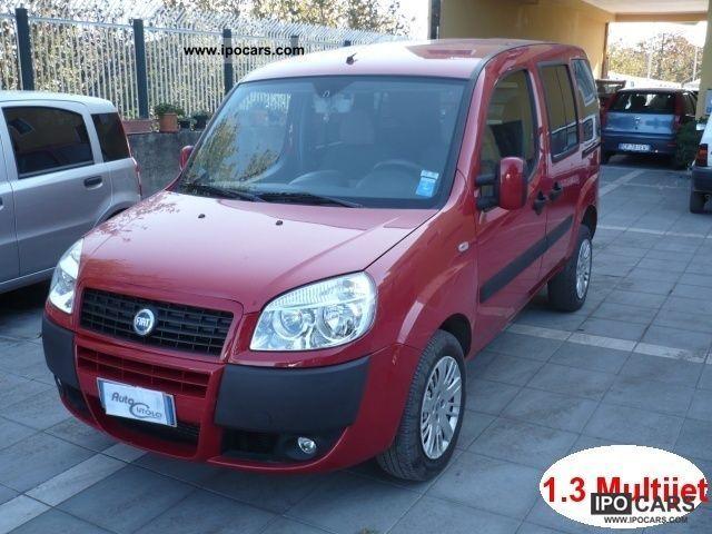 2007 Fiat  Doblo 1.3 Multijet 16v (Euro 4) Combination 5Posti (Autoc Van / Minibus Used vehicle photo