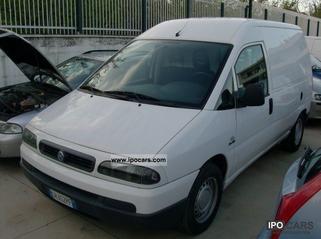 2003 Fiat  Scudo 2.0 JTD 109 cv (€ 3) Furgone 8q Other Used vehicle photo