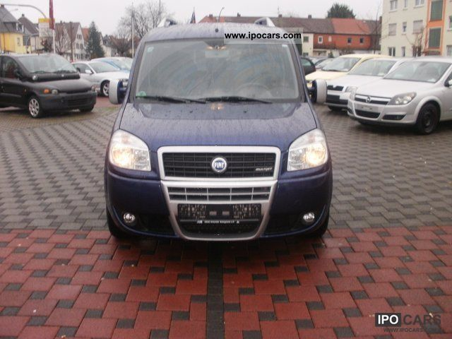 2007 fiat doblo 1 9 jtd malibu pdc ahk car photo and specs. Black Bedroom Furniture Sets. Home Design Ideas
