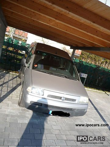 2001 Fiat  Scudo 16 V 222.588.0 Estate Car Used vehicle photo