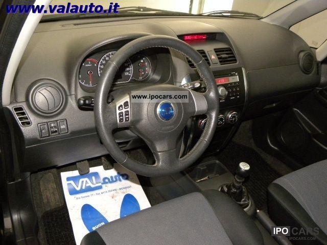 2007 Fiat Sedici 1 9 Mjet Emotion 4x4 Cv120 Gancio Con Tra