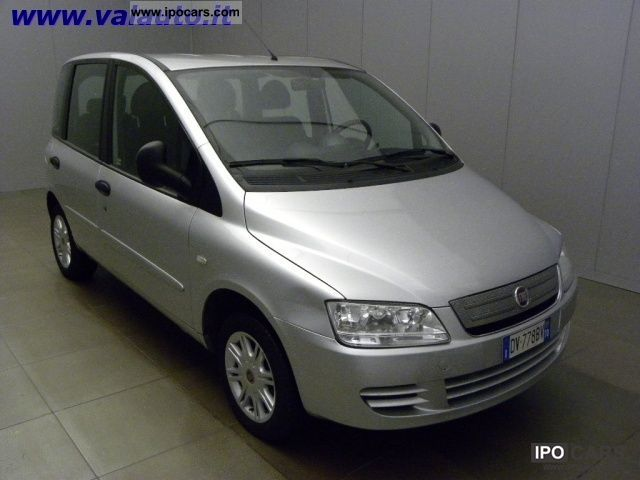 Fiat  NATURAL POWER DYNAMIC CV103 Multipla 1.6 6 POSTI 2009 Compressed Natural Gas Cars (CNG, methane, CH4) photo