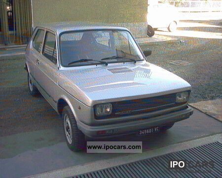 1980 Fiat  127 A ARGENTO 1980 Limousine Used vehicle photo