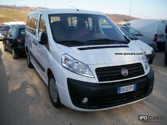 2011 Fiat  Scudo PANORAMA LH1 2.0 DPF 120 CV Limousine Used vehicle photo