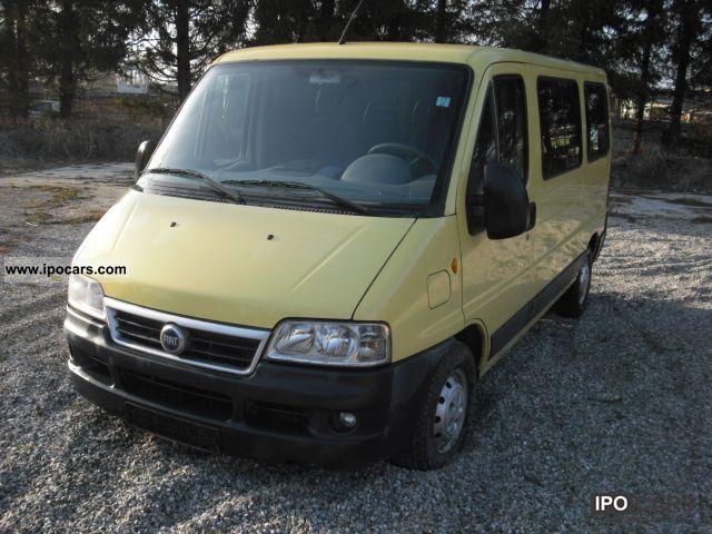 2003 Fiat  Ducato 11 243.3V3.0 glazed C1A Van / Minibus Used vehicle photo