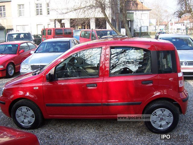2009 fiat panda dynamic car photo and specs. Black Bedroom Furniture Sets. Home Design Ideas