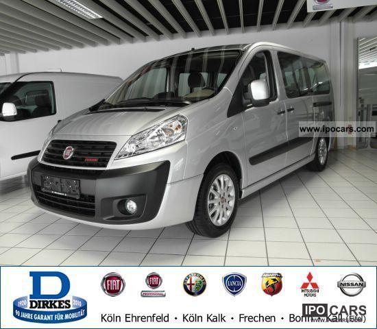 2011 Fiat  Scudo Panorama Executive 10 L2H1 165 Multijet Van / Minibus Employee's Car photo