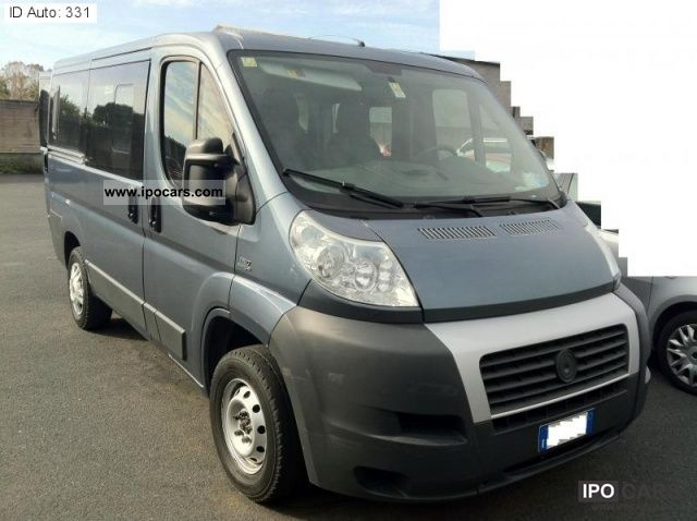 2009 fiat ducato 2 3 120cv mjt panorama car photo and specs. Black Bedroom Furniture Sets. Home Design Ideas