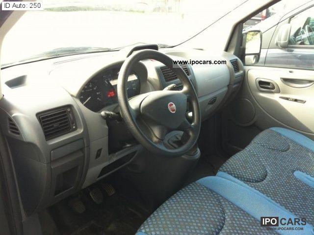 2009 Fiat Scudo 2 0 mjt 16V Combi 120 CV Car Photo and Specs