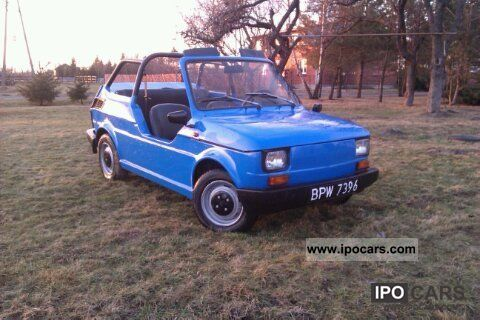1990 Fiat  126 Cabrio / roadster Used vehicle photo