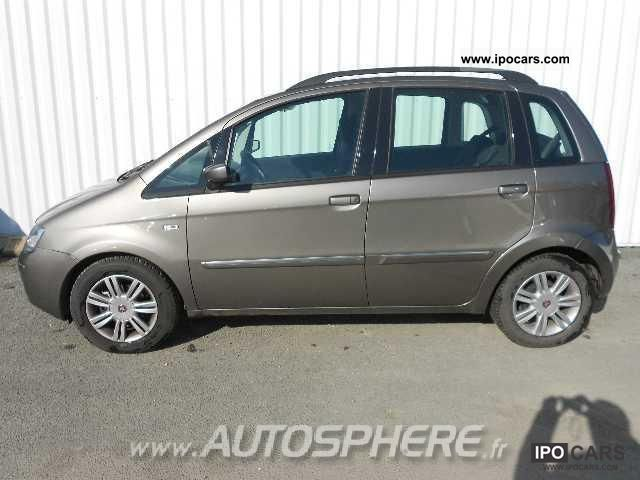 2009 fiat idea idea 1 4 16v 95 a dualogic emotion car for Fiat idea 2009 precio