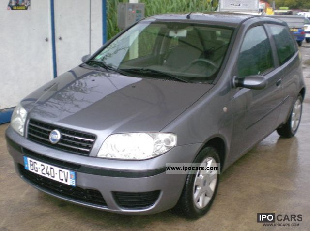 2005 fiat punto 1 3 multijet 16v cult car photo and specs. Black Bedroom Furniture Sets. Home Design Ideas